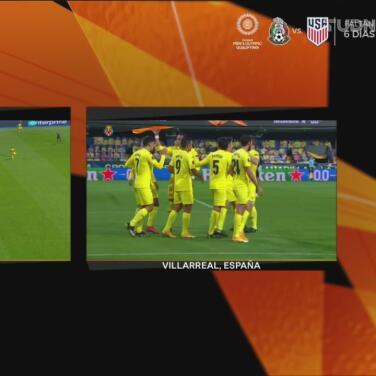 ¡Moreno anota! Gerard con un cabezazo logra el 1-0 de Villarreal