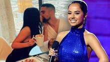 Becky G anuncia que ella y a su novio Sebastian Lletget realizaron 'un trío' en Las Vegas