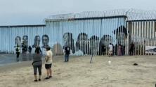 Los rostros de la deportación: mural interactivo en la frontera muestra la historia de 15 migrantes