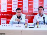 Pablo Guede es presentado como técnico del Necaxa tras salida de Guillermo Vázquez