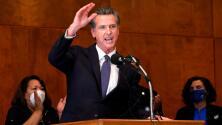 """""""Le dijimos sí a las vacunas"""", el gobernador de California celebra que permanecerá en su cargo"""