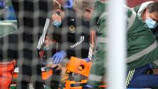 Raúl Jiménez está estable tras sufrir conmoción en el choque entre Wolves y Arsenal