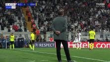 ¡GOL!  anota para Borussia Dortmund. Erling Haaland