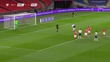 Inglaterra ya le gana a Polonia con gol de Harry Kane