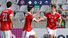 Rusia asalta la cima y hunde a Chipre al derrotarlos por 0-2