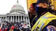 ¿La policía ayudó a los manifestantes?: Cuestionan respuesta de las autoridades durante disturbios en el Capitolio