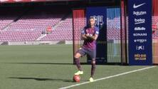 """Boateng fue presentado en el Barcelona: """"A Barcelona no quiero ir en avión, quiero ir corriendo"""""""