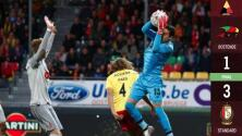 Memo Ochoa volvió a ser determinante en la victoria del Standard de Lieja