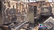 Incendio múltiple deja sin hogar a varias familias en Stockton