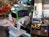 Cuidaba a su hija mientras atendía a clientes: mesera recibe propina de $ 1,000 en un restaurante de Carolina de Norte