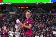 ¡Solo le faltó su gol! Carli Lloyd cierra su carrera con un juego emotivo