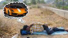 Tras ayunar más de un mes rogando a Dios por un auto de lujo para su novia, salvan a un joven de la muerte
