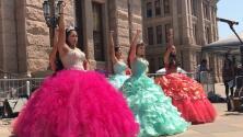 Entre música y baile, cientos protestan en Texas contra la SB4 y a favor de DACA