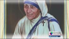 Católicos festejan canonización de la Madre Teresa