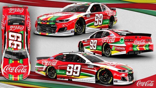 Piloto de NASCAR correrá con automóvil que honra a México
