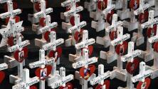 Realizan homenajes de recordación para las víctimas que dejó el tiroteo en Las Vegas en el 2017