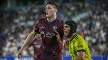 Ambriz y Huesca sufren su segunda derrota consecutiva