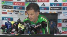 Juan Carlos Osorio confía plenamente en los futbolistas que convocó