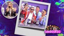 """""""Estoy a punto de infartarme"""": El momento en que Grupo Firme se entera que ganó cuatro Premios Juventud (cuando pensaban era  solo 1)"""