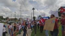 Dirigente local del partido republicano arremete contra cubanos tras protestas en Georgia