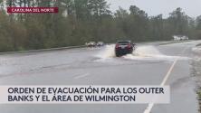 Evacuación obligatoria para varias zonas costeras en Carolina del Norte ante la inminente llegada de Dorian