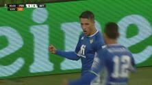 ¡Es el gol que mata! Cristian Tello sella el 1-3 ante el Ferencvaros