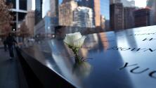 ¿Por qué se ponen rosas blancas sobre los nombres de las víctimas del 9/11? La historia detrás de este homenaje