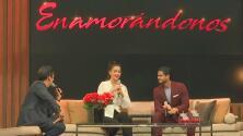 Nos encantó ver a Ana Patricia con Rafael Araneda presentando el set del programa Enamorándonos