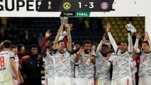 Bayern se impuso al Dortmund y ganó su novena Supercopa de Alemania