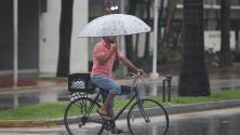 Prepara el paraguas: Miami tendrá un miércoles con lluvias constantes y algo de tormentas