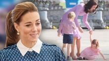 """Kate Middleton pide ayuda sobre cómo manejar en casa los """"berrinches"""" de sus tres hijos"""