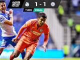 Resumen | Cruz Azul saca el empate 1-1 ante Puebla con uno menos