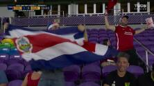 ¡GOL!  anota para Costa Rica. Joel Campbell