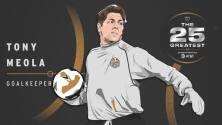 The 25 Greatest: Tony Meola una 'pared' en las redes y dueño de marcas impresionantes