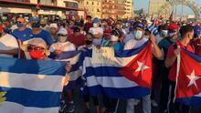 """""""El pueblo ya no está intimidado"""": Marcha pacífica de la oposición cubana ahora será el 15 de noviembre"""