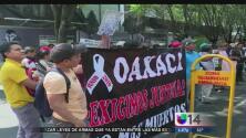 Protestan por supuesto abuso a los maestros en México