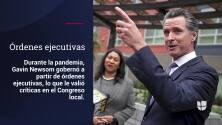 Los escándalos que llevaron a la elección revocatoria de Gavin Newsom