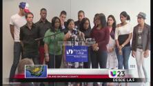 Tres estudiantes cubanos se quedan en Miami