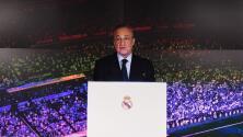 Florentino Pérez insiste en crear la SuperLiga de Europa