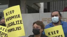 """""""Que cumplan lo prometido"""": Hacen un llamado en Los Ángeles para que se apruebe una reforma migratoria"""