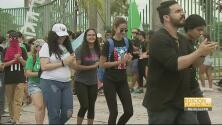 """Estudiantes de la UPR en Mayagüez afirman que las medidas del plan fiscal """"atentan contra el bienestar de los ciudadanos"""""""