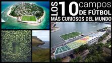 Los 10 campos de fútbol más curiosos del mundo