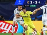 Villarreal dejó escapar el triunfo en casa y empata 2-2 con Atalanta