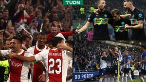 Ajax golea al Borussia e Inter acaba invicto de Sheriff