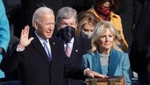 La juramentación de Joe Biden en fotos: así transcurre la transición del poder en Estados Unidos