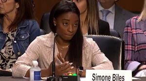 Simone Biles y otras atletas declaran en el senado ante Larry Nassar