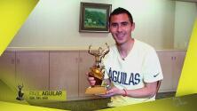 Paul Aguilar ganó el premio al Gol del Año