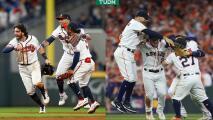 Habrá nuevo rey, Astros y Braves jugarán la Serie Mundial