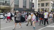 Manifestantes alzan la voz por tercera vez para exigir el cese de la violencia armada en Filadelfia