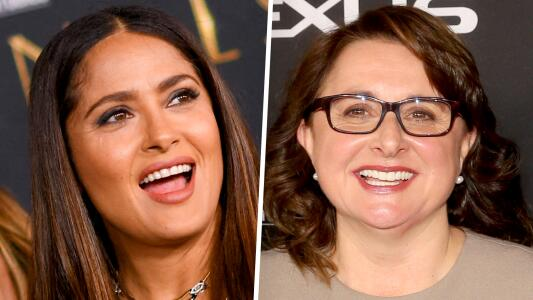 Presidenta de Marvel es viral por su comentario a Salma Hayek en la premiere de 'Eternals'
